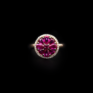 Ruby Center Ring