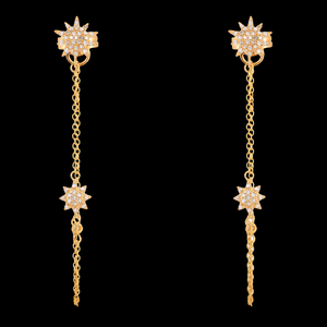 Load image into Gallery viewer, Chain Long Earrings