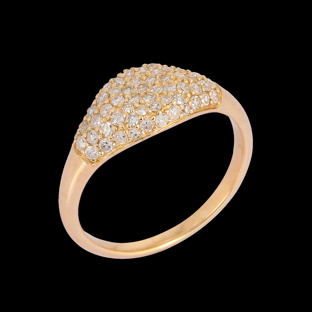 Load image into Gallery viewer, Diamond Pinky Ring