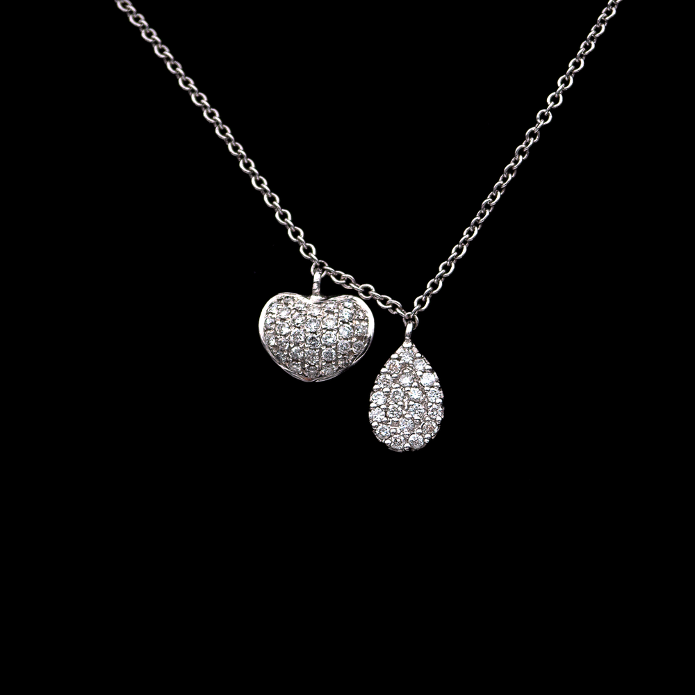 Heart and Charm Necklace