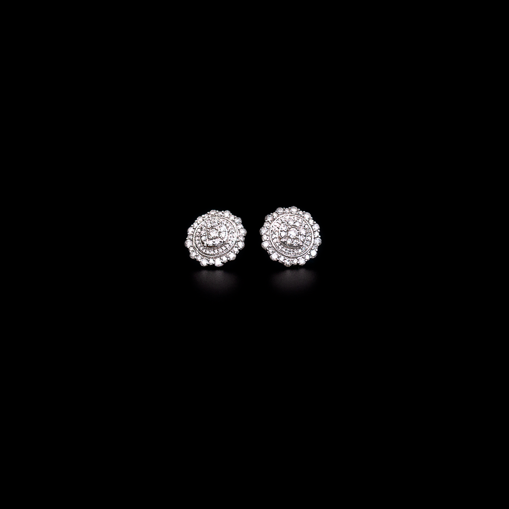 Diamond Circles Earring