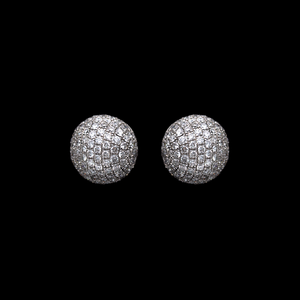 Diamond Disco Earrings