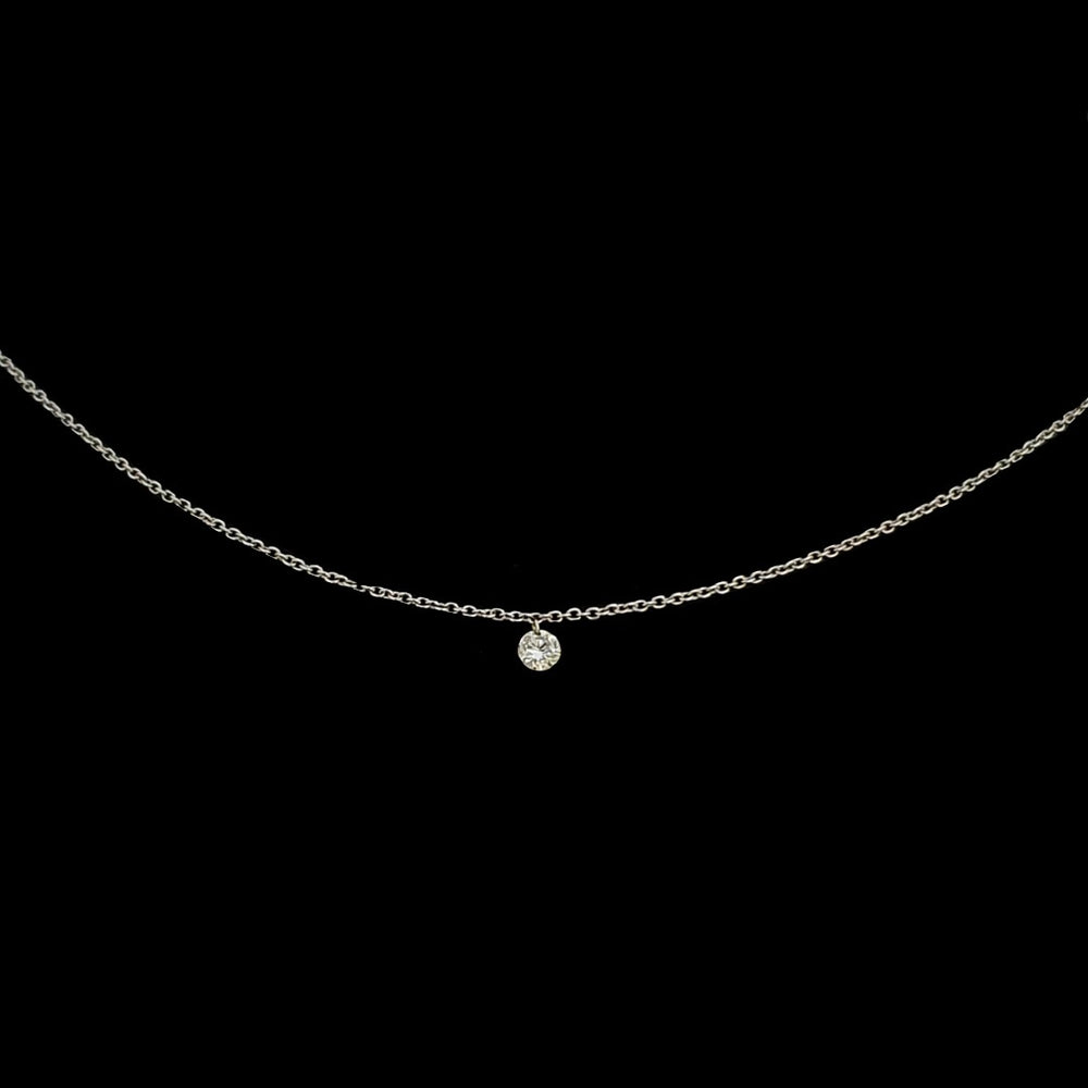 Load image into Gallery viewer, Single Diamond Necklace