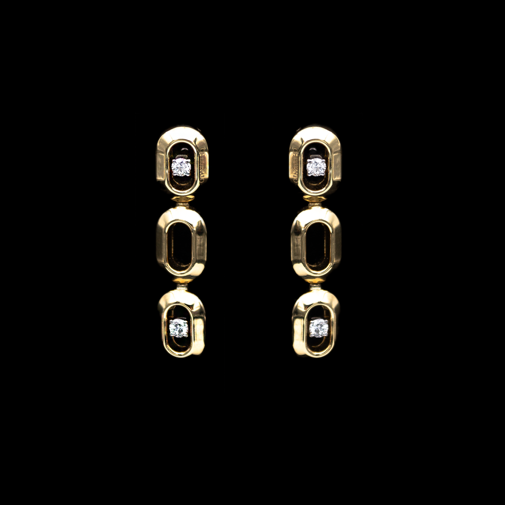 Chimento Link Earrings