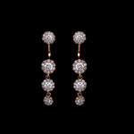 Top/Bottom Diamond Earrings