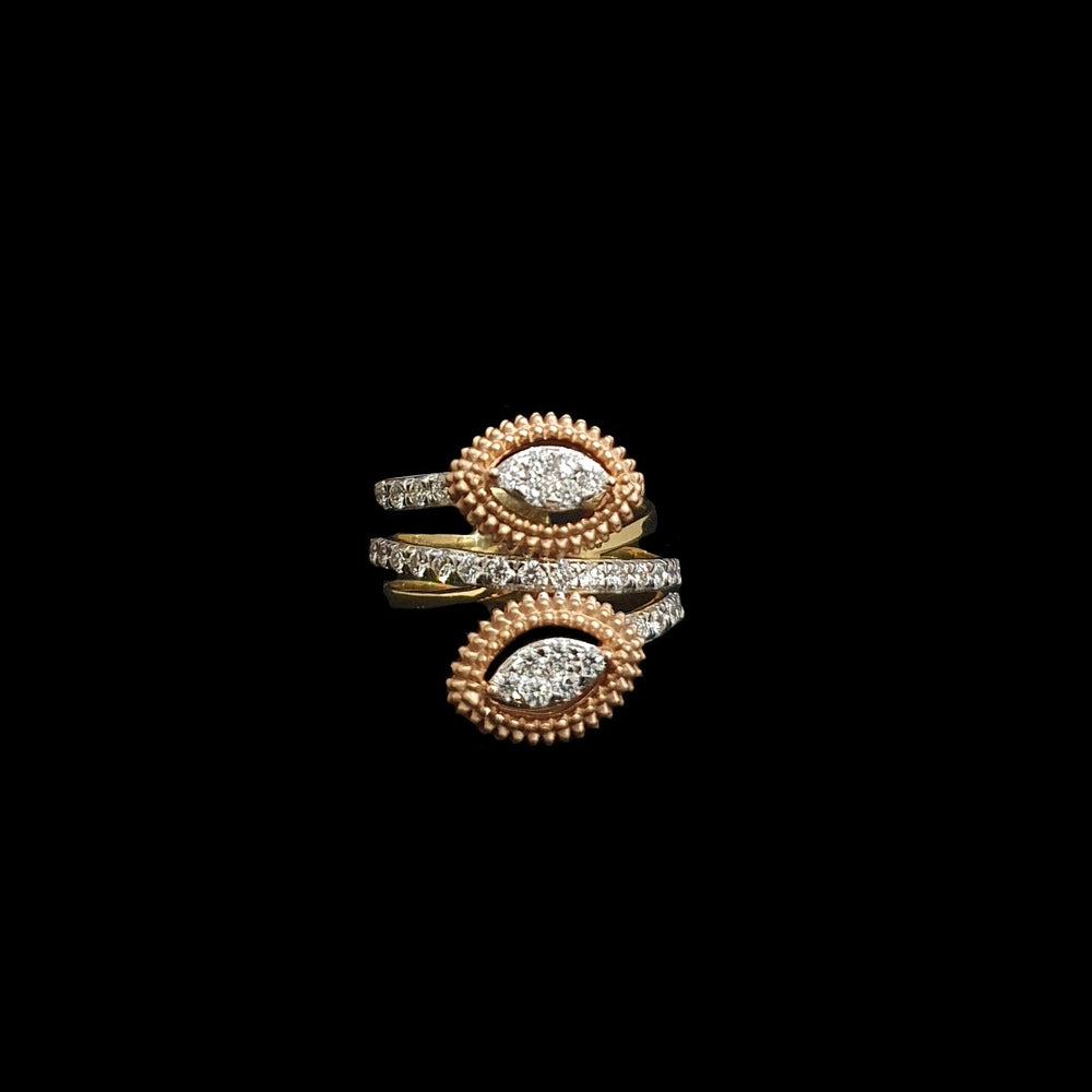 Double Marquise Ring