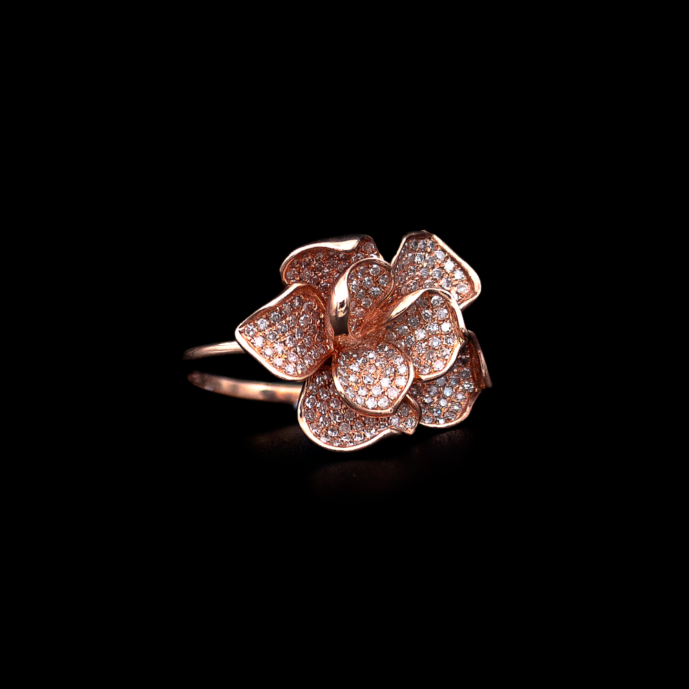 Load image into Gallery viewer, Pink Flower Ring