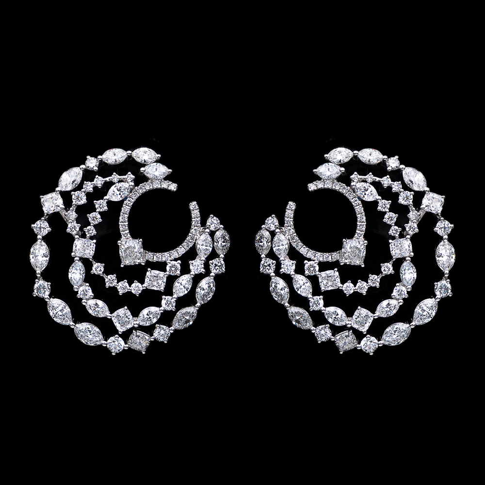 Inside-Out Diamond Earrings