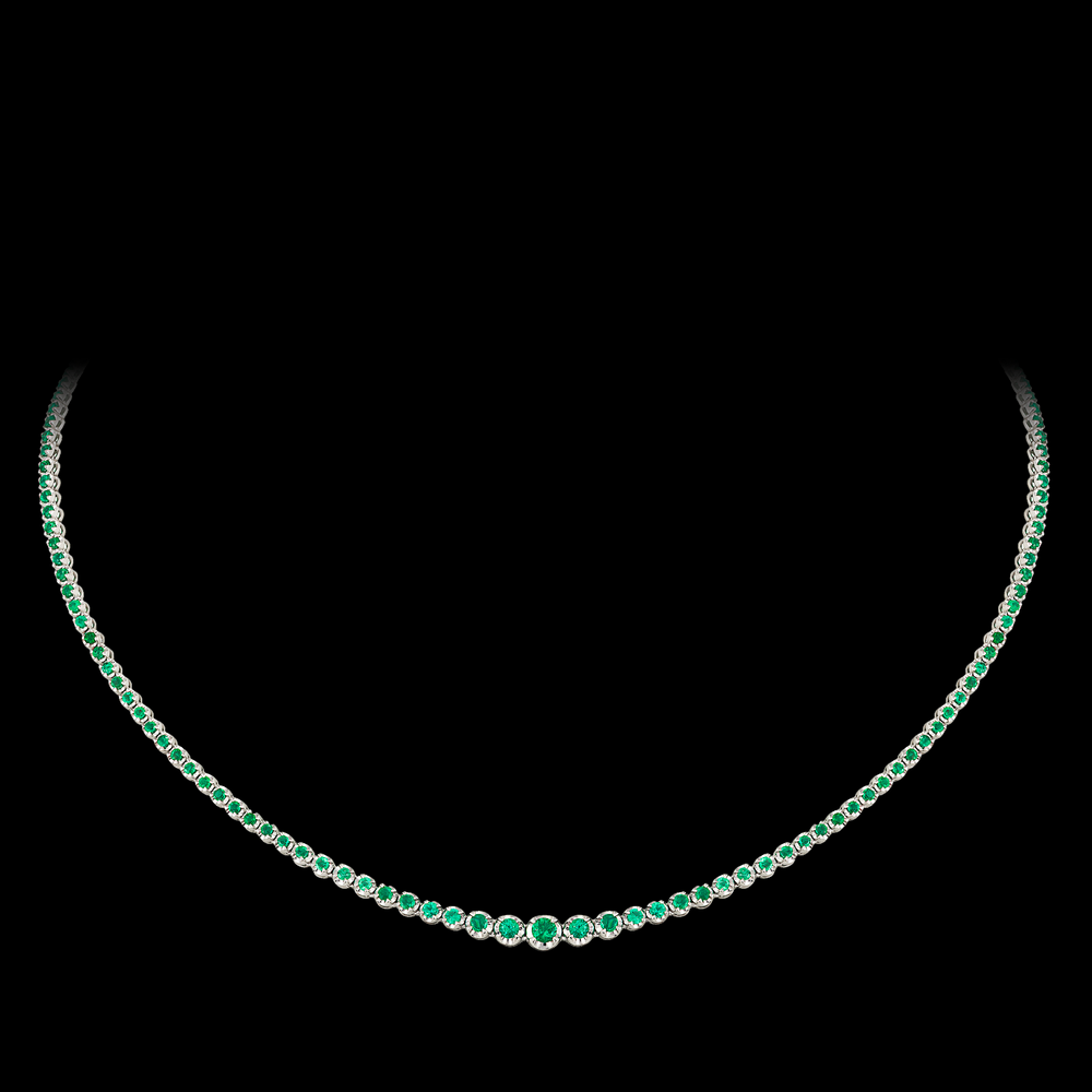 Emerald Necklace/Choker