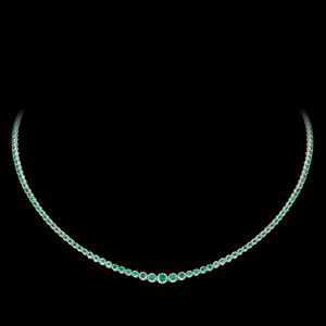 Load image into Gallery viewer, Emerald Necklace/Choker
