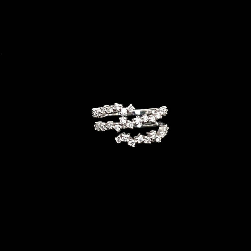 Load image into Gallery viewer, Wrap Around Diamond Ring