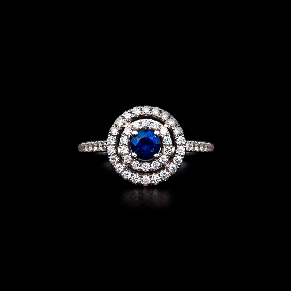 Load image into Gallery viewer, Royal Sapphire Ring