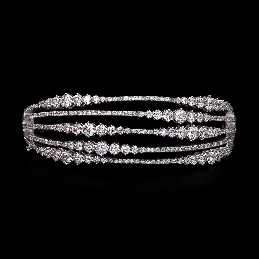 Load image into Gallery viewer, Diamond Wave Bracelet