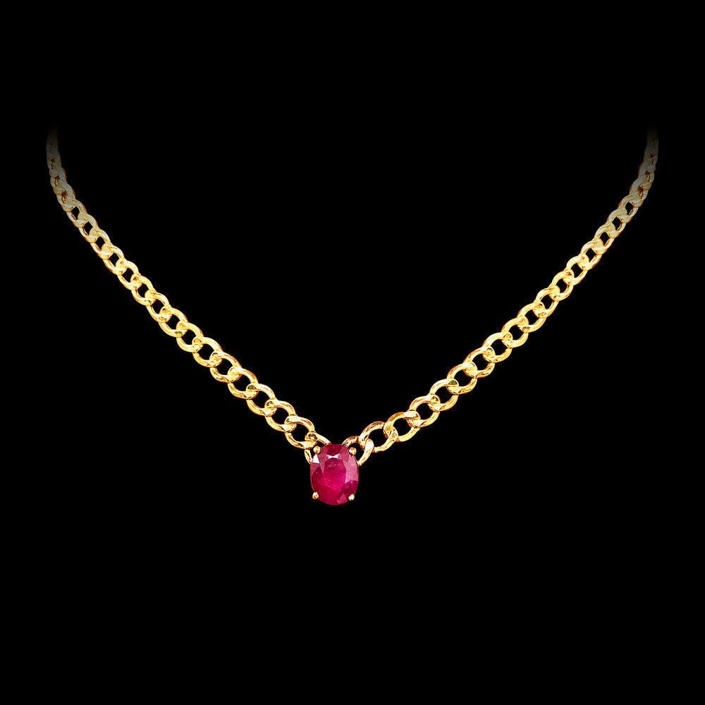 Cuban Ruby Necklace