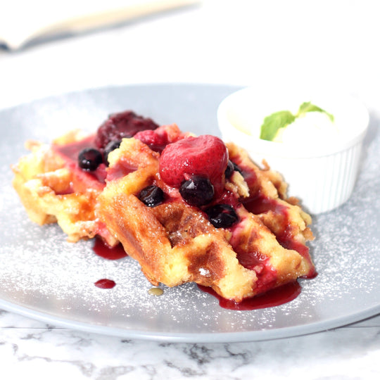 Summer Berry Waffle