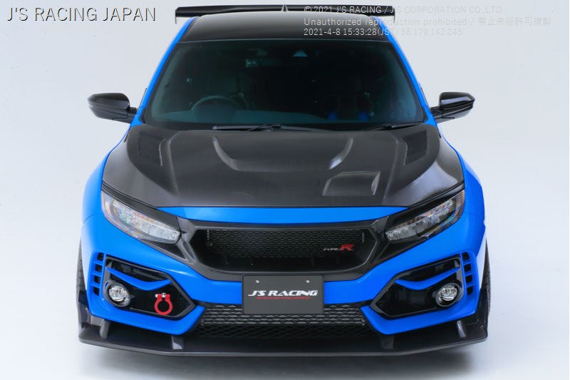 New J'S RACING FK8 TYPE-R exclusive aero