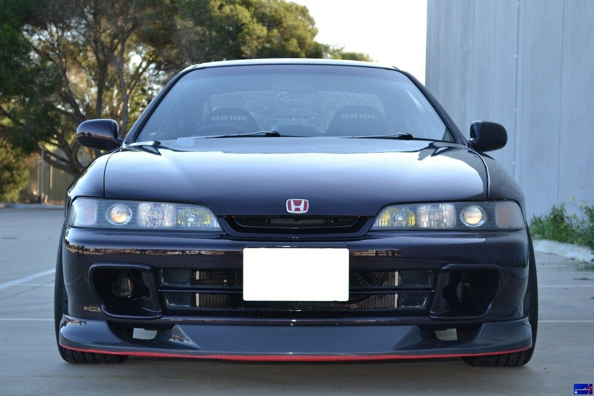 J's Racing Genuine Honda DC2 Carbon Front lip - JDM Front Bumper Only