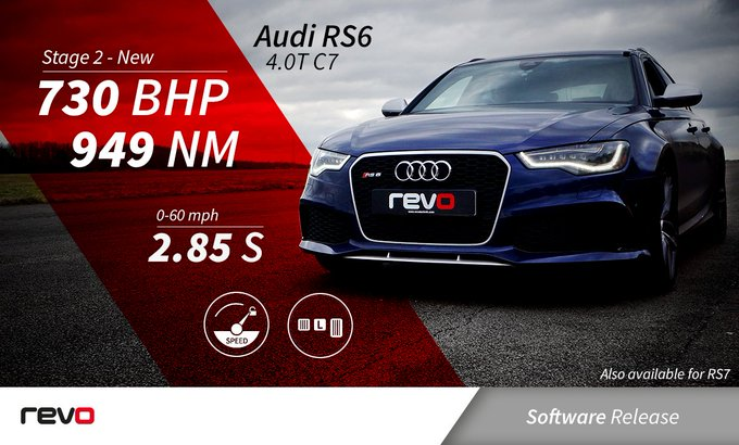 REVO TUNING - Audi RS6 4.0 TFSI STAGE 1 - On The Run Motorsports