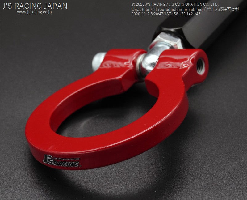 J'S RACING FK8 Rear towing hook