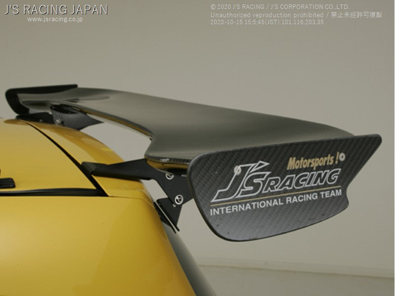 J'S RACING 3D GT wing Carbon