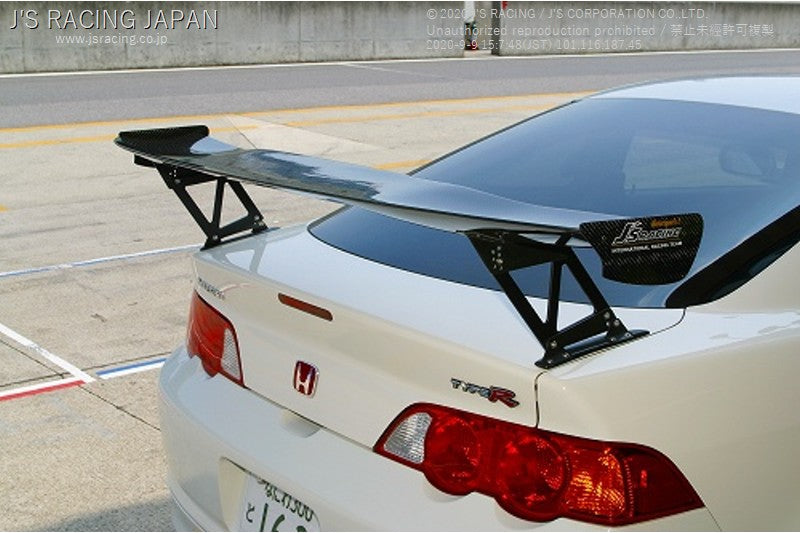 J'S RACING 3D GT wing type 1 wet carbon | OTR Motorsports - Performance parts, tuning and mechanical supplies