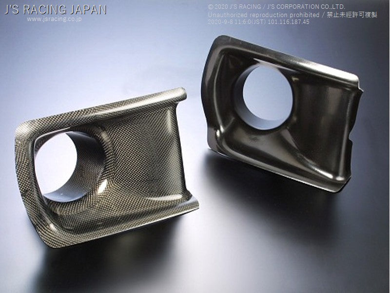 J'S RACING DC2 Air intake duct FRP | OTR Motorsports - Performance parts, tuning and mechanical supplies