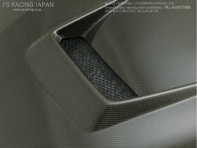 J'S RACING Aluminum net for DC5 hood - On The Run Motorsports