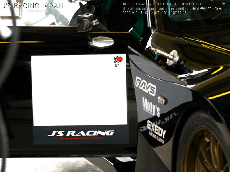 J'S RACING Number Base Sticker - On The Run Motorsports