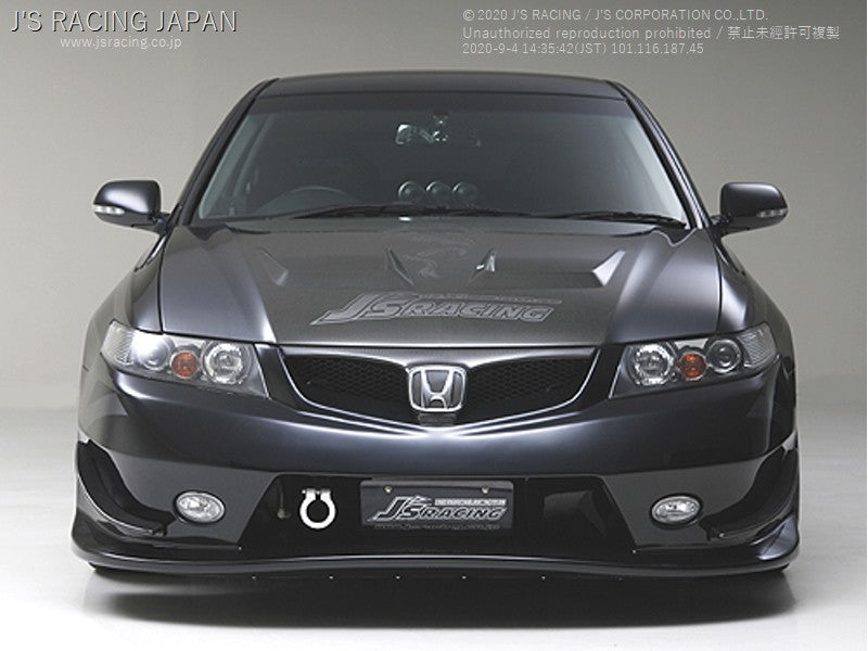 J'S RACING CL7 Street.Ver front bumper FRP | OTR Motorsports - Performance parts, tuning and mechanical supplies