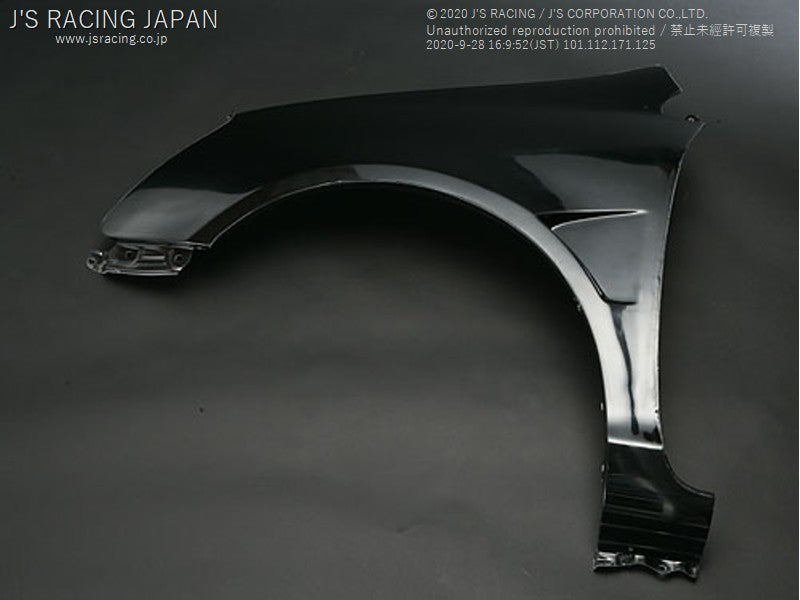 J'S RACING EP3 Front Wide Fender kit FRP | OTR Motorsports - Performance parts, tuning and mechanical supplies