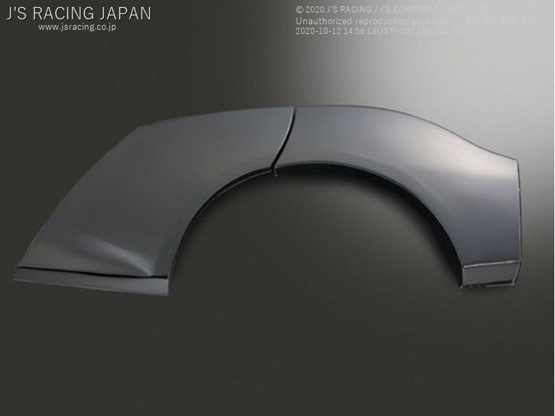 J'S RACING FIT GD Rear GT Fender Right