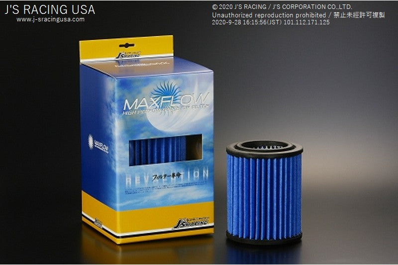 J'S RACING Max flow air filter - On The Run Motorsports