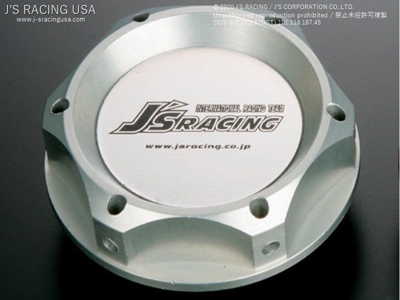 J's Racing engine oil filler cap sliver - On The Run Motorsports