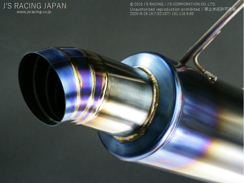 J'S RACING DC5 Titanium Exhaust FX-PRO 60RS - On The Run Motorsports