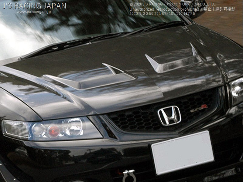 J'S RACING CL7 Type V full CFRP hood | OTR Motorsports - Performance parts, tuning and mechanical supplies