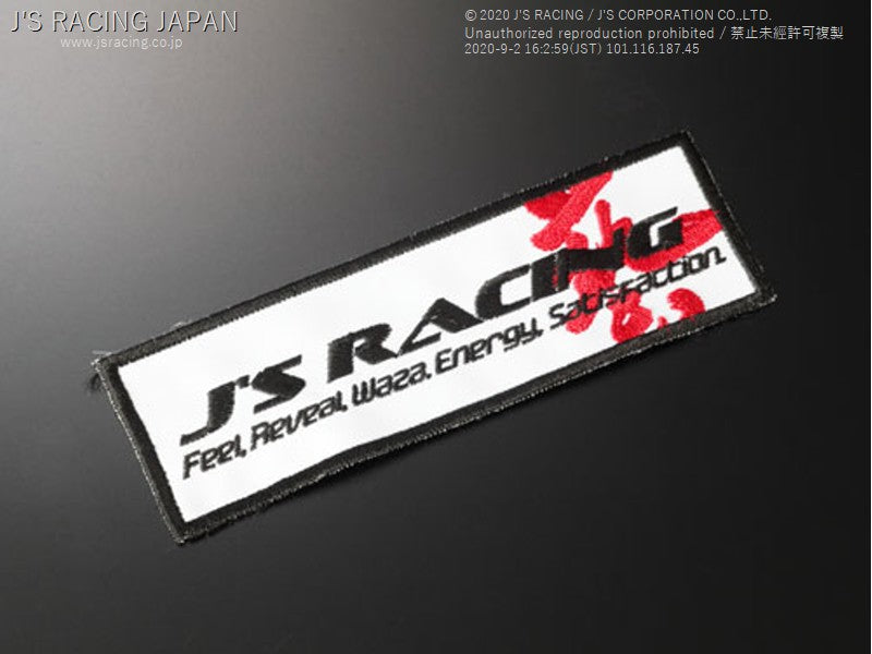 J'S RACING WAZA Racing Patch | OTR Motorsports - Performance parts, tuning and mechanical supplies