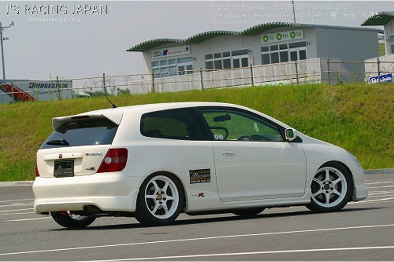 J'S RACING CIVIC TYPE-R EP3 SUS Exhaust System 60RS