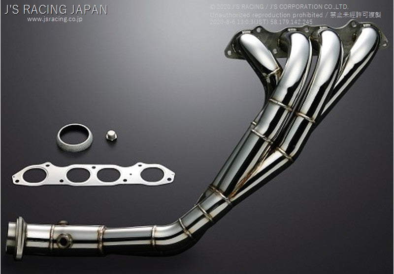 J'S RACING S2000 Stainless header 4-2-1 | OTR Motorsports - Performance parts, tuning and mechanical supplies