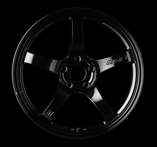 RAYS 57CR 18X9.5 +22 5/114.3 BLACK (GX) | OTR Motorsports - Performance parts, tuning and mechanical supplies