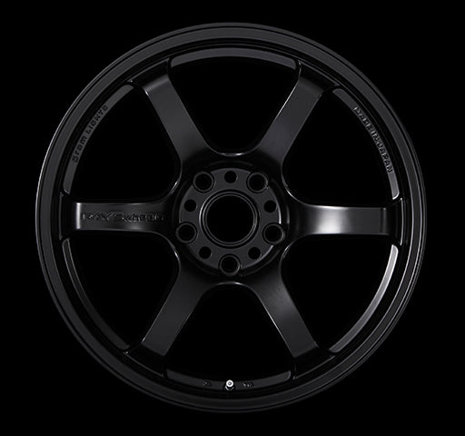 RAYS 57DR 18X9.5 +22 5/114.3 SEMIGLOSS BLACK | OTR Motorsports - Performance parts, tuning and mechanical supplies