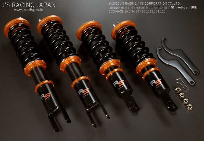 J'S RACING EP3 Black Series DAMPER KIT RS | OTR Motorsports - Performance parts, tuning and mechanical supplies