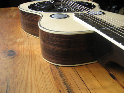 Indian Rosewood guitar