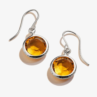 Topaz Birthstone Earrings, November