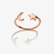 Moon + Star Ring Wrap