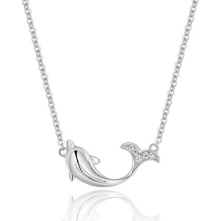 Dolphin Pendant Necklace