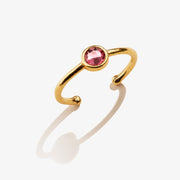 Rose Birthstone Ring, October