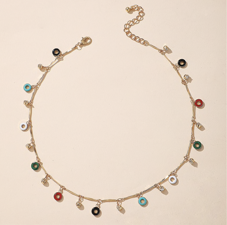 Chalise Pendant Choker Necklace