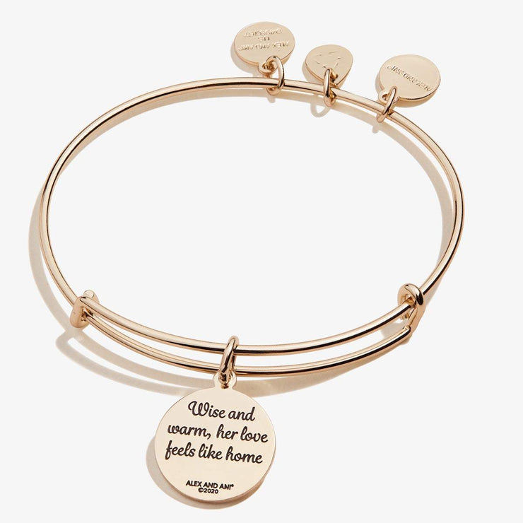 Grandma, 'Wise + Warm' Charm Bangle