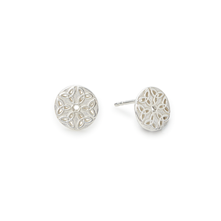 Endless Knot Stud Earrings