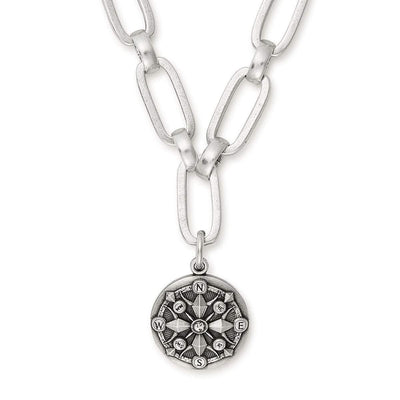 Compass Magnetic Necklace